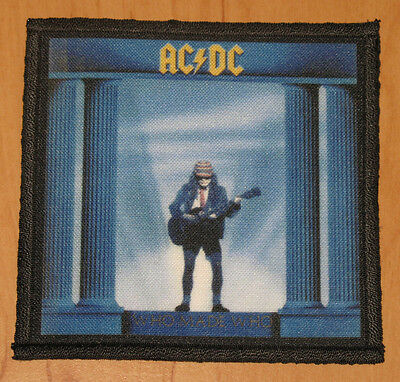 """AC/DC """"WHO MADE WHO"""" silk screen PATCH"""