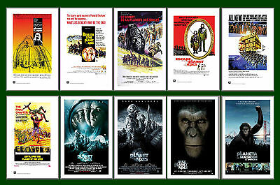 Planet Of The Apes -  Film Posters Postcard Set # 1
