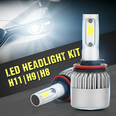 LED H9 200W 30000LM Phare voiture Headlight Conversion CREE lampe 6500K LD1053