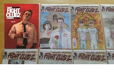Fight Club 2 #1 2 3 4 5 6 7 8 9 10 Chuck Palahniuk complete comic 1st Print NM