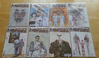 Fight Club 2 #1 2 3 4 5 6 7 8 Chuck Palahniuk  dark horse comic 1st Print NM