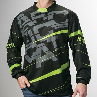 Arctic Cat Men's Relaxed Fit Polyester Moisture-Wicking Jersey - Black 5279-59_