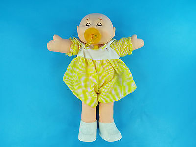 Vintage Uneeda Cabbage Patch Look Alike Doll with Pacifier in Outfit & Shoes