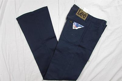 Vtg NOS Deadstock 70s Lee Prest Pants Boot Cut Flare Talon Zipper NWT Size 27x34