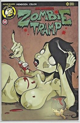 Zombie Tramp #35 Variant B Edition Cover Variant Action Lab Danger Zone