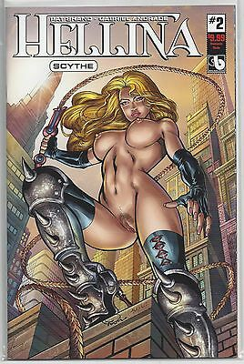 Hellina Scythe #2 Dominate Variant B Edition Cover Boundless Comics