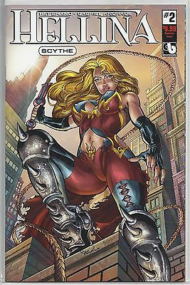 Hellina Scythe #2 Dominate Variant Edition Cover Boundless Comics