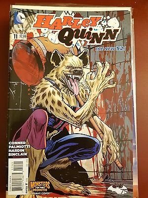 Harley Quinn #11 (2014) Dc Comics Monsters Of The Month Variant!!! 1St Print Nm