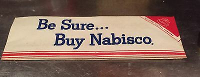 RARE Vintage Nabisco Advertising Paper Hat - Circa 1950s! Outstanding Condition!
