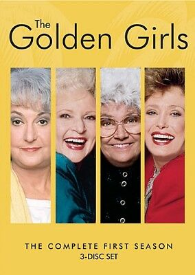GOLDEN GIRLS COMPLETE FIRST SEASON 1 Sealed New 3 DVD Set