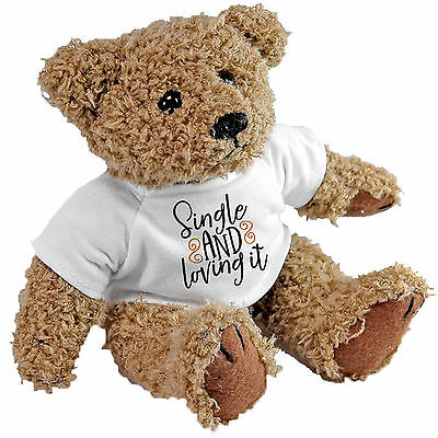 Single and loving it Bear - Valentines - Anniversary gift