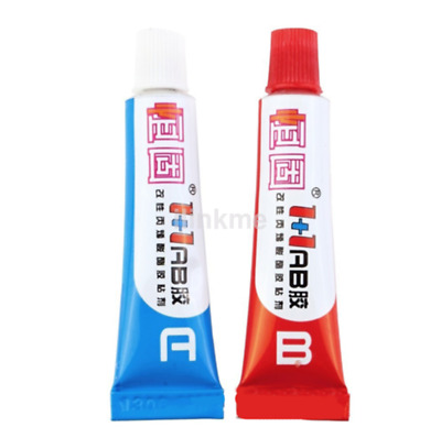 Brand New 2pc Component Resin A+B Glue Strong Adhesive Epoxy Super Sticky US