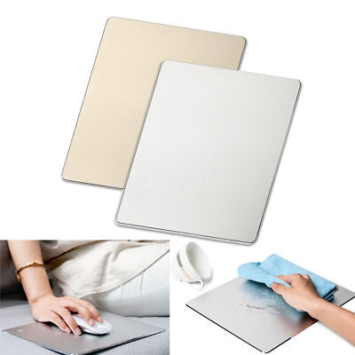 Aluminum Alloy Gaming Mouse Mat Pad Mousepad For Apple Dell Macbook ASUS Lenovo