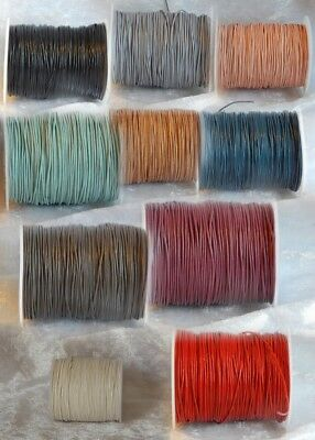 0.5mm Indian Leather Thonging - Various Colours