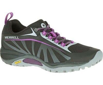 Merrell Siren Edge Womens Hiking Shoes - Black/Purple