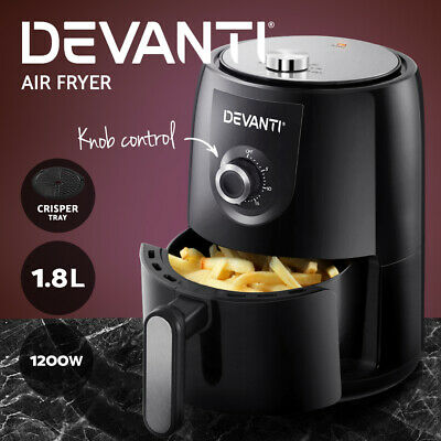 10L Air Fryer 6 Function Convection Oven Cooker Turbo Healthy Rotisserie 1300W