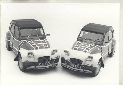 1968 ? Citroen 2CV ORIGINAL Factory Photograph wy3153