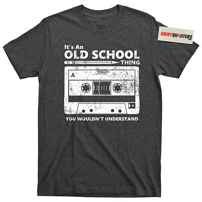 Cassette tape pencil boombox VHS 80s eighties Yo MTV Raps hip hop party T Shirt