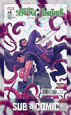 DOCTOR STRANGE PUNISHER MAGIC BULLETS #4 (MARVEL 2017 1st Print) COMIC
