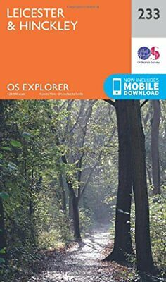 Leicester and Hinckley (OS Explorer Map) New Map Book Ordnance Survey