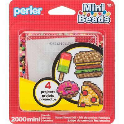PERLER PER8014069  FUSED MINI BEAD BAG 2000PC BLACK