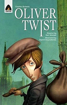 Oliver Twist: The Graphic Novel (Campfire Graphic Novels) New Paperback Book Dan