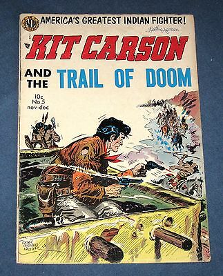 Kit Carson (And The Trail Of Doom) #5  Nov 1954  Avon Western