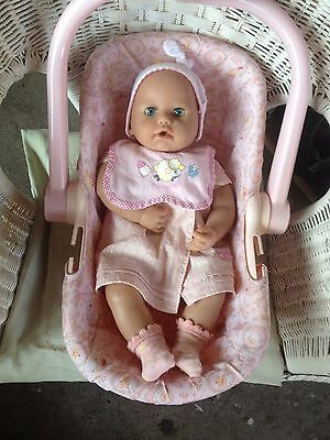 Baby Annabell Electronic Doll By Zapf Creation With Graco