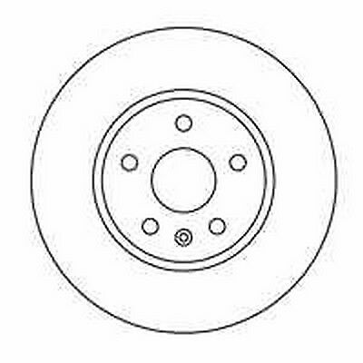 Front Delphi 2x Brake Discs 321mm Vented Fits Opel Insignia Sports Tourer 1.4