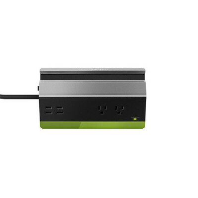 Monster Medium Charging Station with 4 USB Ports and 2 Power Outlets