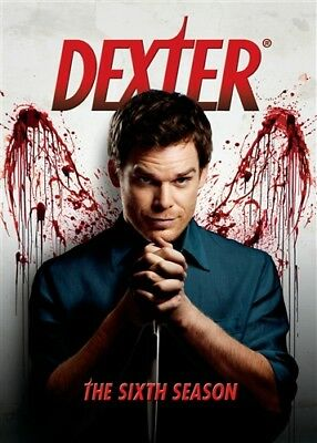 DEXTER THE SIXTH SEASON 6 New Sealed 4 DVD Set