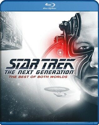 STAR TREK THE NEXT GENERATION THE BEST OF BOTH WORLDS New Blu-ray Parts 1 and 2