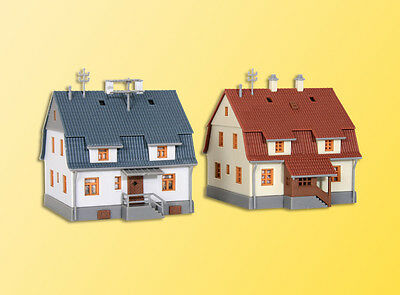 Kibri 6830 Z Scale Two Settlement Houses Farm Building KIT *NEW $0 SHIPPING