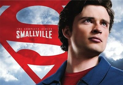 SMALLVILLE COMPLETE SERIES New 62 DVD Set Seasons 1-10 1 2 3 4 5 6 7 8 9 110
