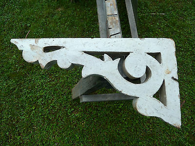 Antique Wood Corbel Bracket Victorian Gingerbread Architectural