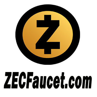 ZECFaucet.com Premium Hot Domain Name for ZCash Coin like Bitcoin BTC on Sale
