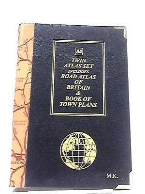AA Twin Atlas Set includes Road Atlas Book (Automobile Association) (ID:68721)