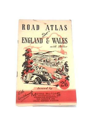 Road Atlas of England & Wales with Index Book ( - 0) (ID:34455)