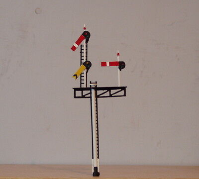 P&D Marsh OO Gauge Z354R GWR righthand junction signal PAINTED & finished