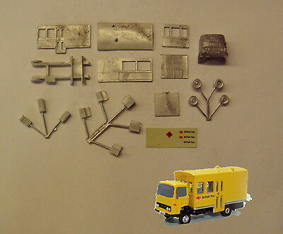 P&D Marsh N Gauge n Scale E102 BR Permanent way lorry kit requires painting