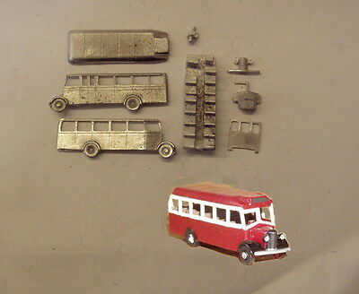 P&D Marsh N Gauge n Scale E121 Bedford OWB bus kit requires painting