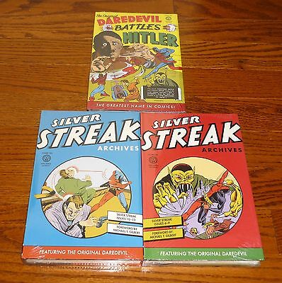 Silver Streak Archives Volume 1 + 2, + Daredevil 1, SEALED, Dark Horse Comics