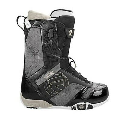 Flow Mens Rival Quickfit Snowboard Boots Black Freestyle