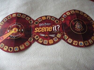 Harry Potter Scene It DVD Game - Game Board Replacement/Spare Part ONLY