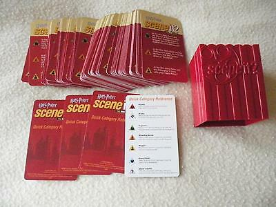 Harry Potter Scene It DVD Game - Question Cards Replacement/Spare Part ONLY