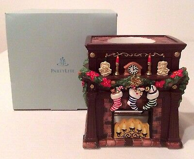 PartyLite Hearthside Aroma Melts Warmer P8115 Christmas Holiday Winter W/ Box