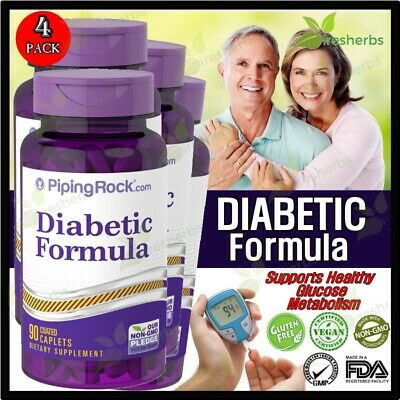DIABETIC Formula Healthy Glucose Blood Sugar Weight Loss Energy Supplement 360ct