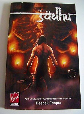 'THE SADHU' Volume 1 Virgin Comics July 2007 Gotham Chopra Graphic Novel