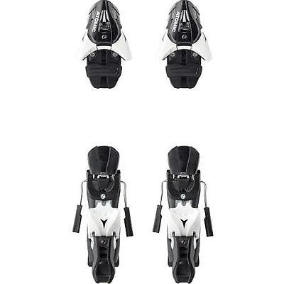 NEW ATOMIC SCOTT SALOMON Z 12  SKI BINDINGS BLACK WHITE for FLAT MOUNTING