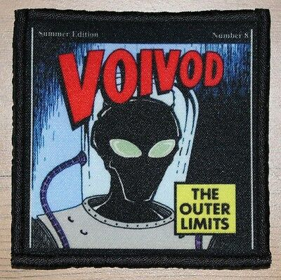 "VOIVOD ""THE OUTER LIMITS"" silk screen PATCH"